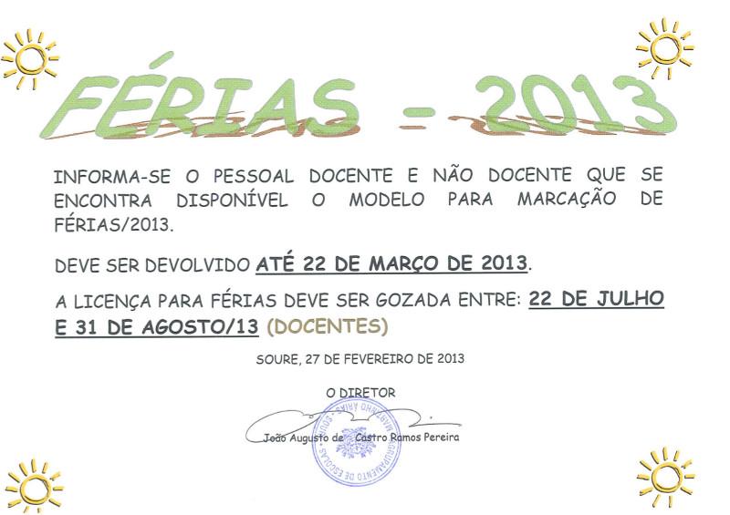 Férias_2013