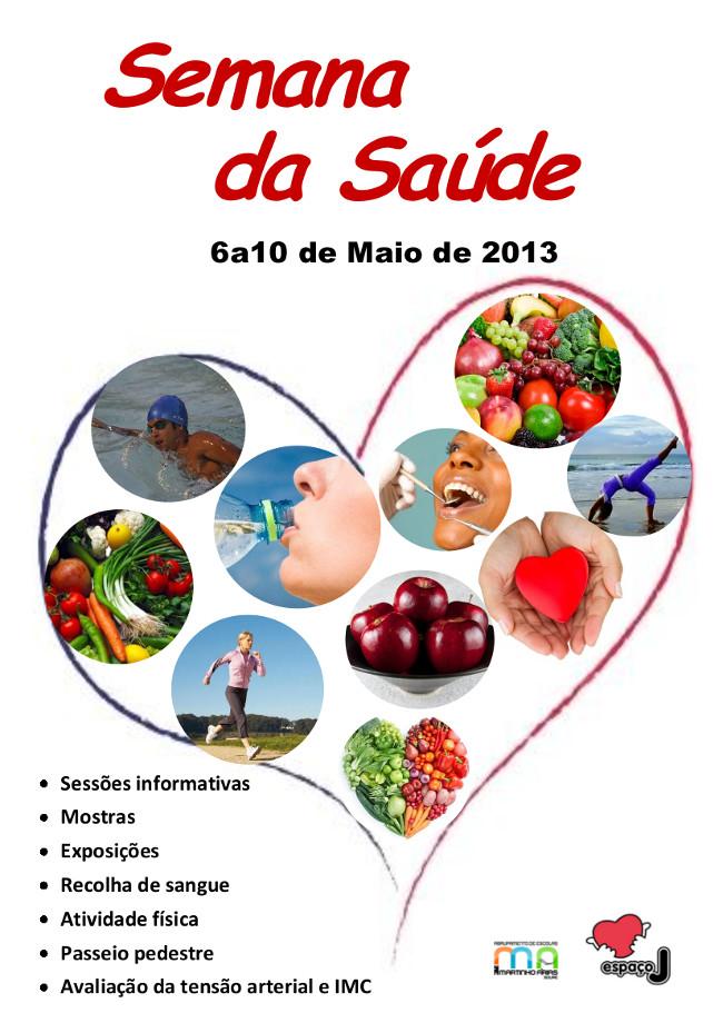 Cartaz semana saúde 2013