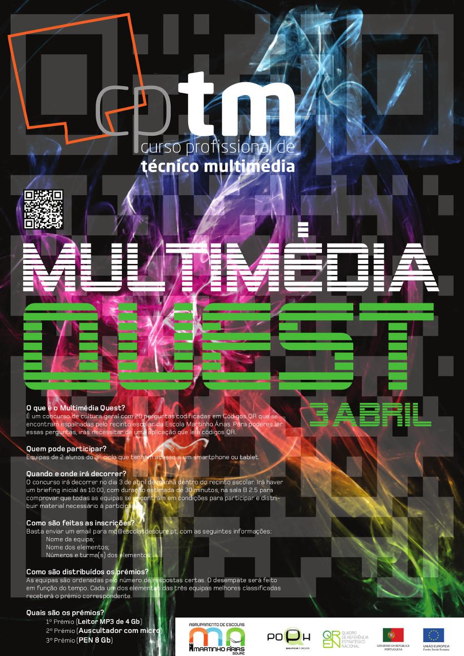 Cartaz Multimédia_Quest