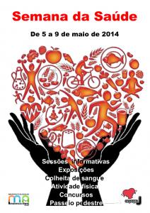 cartaz semana da saude2014