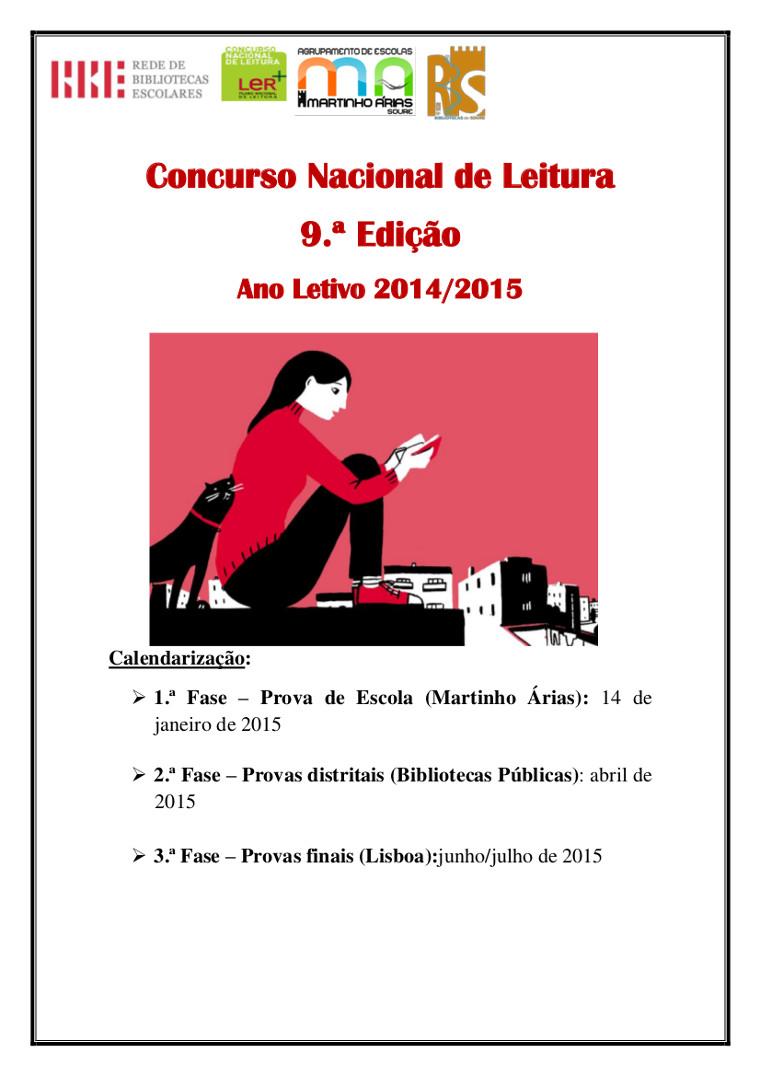 9.ª Edição do Concurso Nacional de Leitura