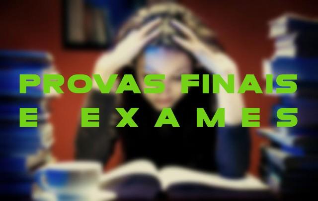 Provas Finais e Exames 2016