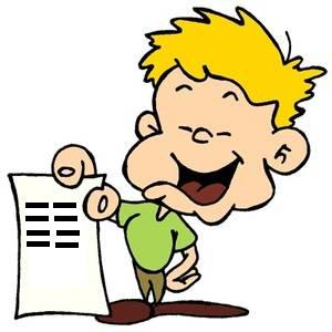 Entrega dos registos de avaliação do 1.º período